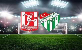 Bursaspor Yarın Deplasmanda Balıkesirspor'la Karşı Karşıya Gelecek
