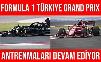 Formula 1 Türkiye Grand Prix Antrenmanında En Hızlı Hamilton