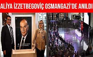 Osmangazi Belediyesi'nden Aliya İzzetbegoviç'e Vefa