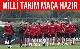 Türkiye A Milli Futbol Takımı, Norveç Maçına Hazır