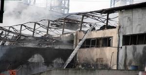 Samsun'daki fabrika yangını kontrol altına alındı