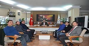 Mustafakemalpaşaspor'dan Ali Özkan'a Ziyaret