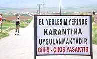 Tunceli'nin Çemişgezek İlçesi Sarıbalta Köyü Karantinaya Alındı