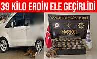 Van'da 39 Kilo 450 Gram Eroin Ele Geçirildi